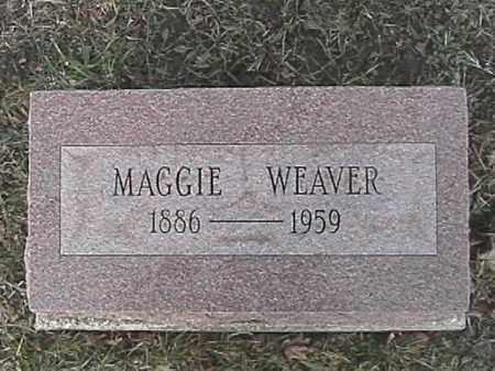 WEAVER, MAGGIE - Champaign County, Ohio | MAGGIE WEAVER - Ohio Gravestone Photos