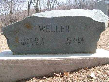WELLER, JO ANNE - Champaign County, Ohio | JO ANNE WELLER - Ohio Gravestone Photos