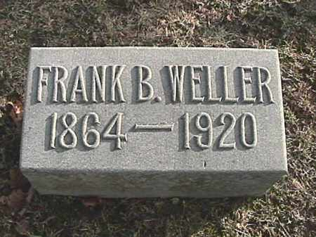 WELLER, FRANK B. - Champaign County, Ohio | FRANK B. WELLER - Ohio Gravestone Photos