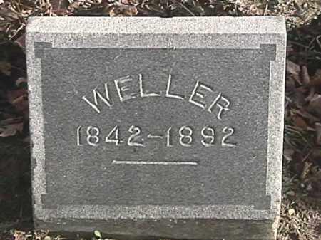 WELLER, UNKNOWN - Champaign County, Ohio | UNKNOWN WELLER - Ohio Gravestone Photos