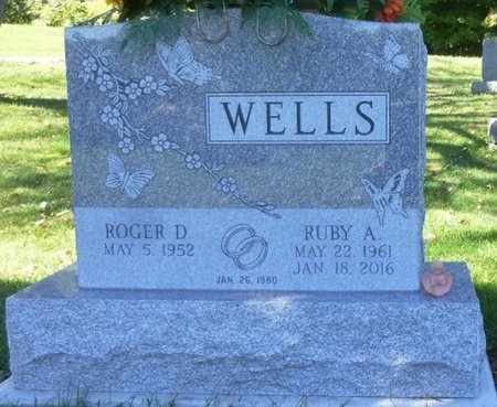 JENKINS WELLS, RUBY ARLENE - Champaign County, Ohio | RUBY ARLENE JENKINS WELLS - Ohio Gravestone Photos