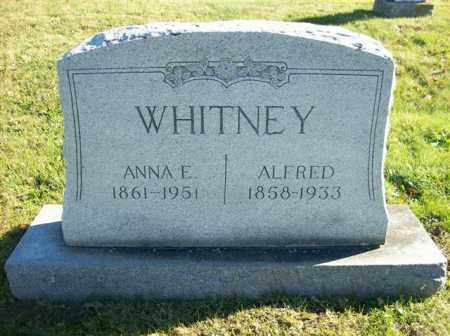 WHITNEY, ALFRED - Champaign County, Ohio | ALFRED WHITNEY - Ohio Gravestone Photos