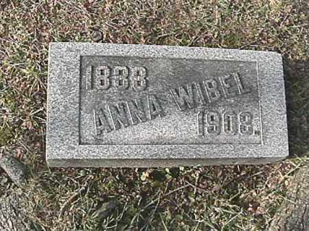 PLANK WIBEL, ANNA - Champaign County, Ohio | ANNA PLANK WIBEL - Ohio Gravestone Photos