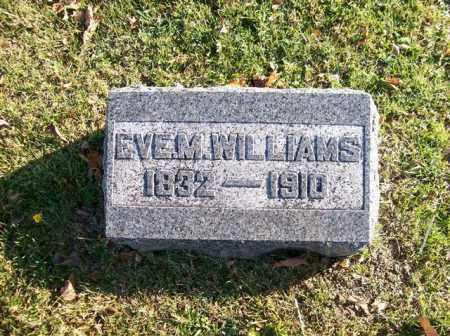 WILLIAMS, EVE M - Champaign County, Ohio | EVE M WILLIAMS - Ohio Gravestone Photos