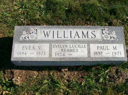 WILLIAMS, EVELYN LUCILLE REAMES - Champaign County, Ohio | EVELYN LUCILLE REAMES WILLIAMS - Ohio Gravestone Photos