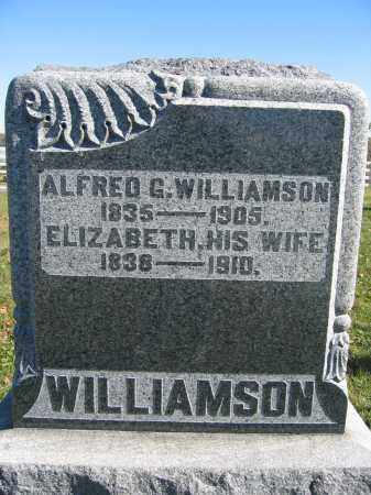 WILLIAMSON, ELIZABETH - Champaign County, Ohio | ELIZABETH WILLIAMSON - Ohio Gravestone Photos