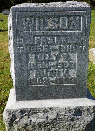 WILSON, LILLY B. - Champaign County, Ohio | LILLY B. WILSON - Ohio Gravestone Photos