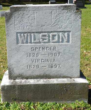 WILSON, SPENCER - Champaign County, Ohio | SPENCER WILSON - Ohio Gravestone Photos