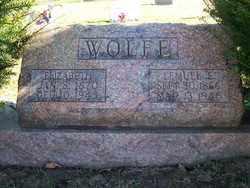 WOLFE, ELIZABETH - Champaign County, Ohio | ELIZABETH WOLFE - Ohio Gravestone Photos