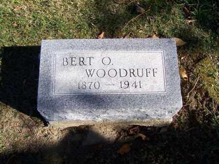 WOODRUFF, BERT  O - Champaign County, Ohio | BERT  O WOODRUFF - Ohio Gravestone Photos