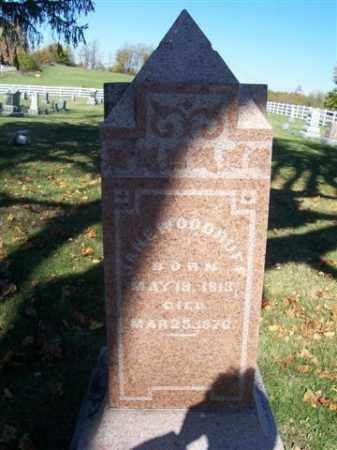 WOODRUFF, JANE - Champaign County, Ohio | JANE WOODRUFF - Ohio Gravestone Photos