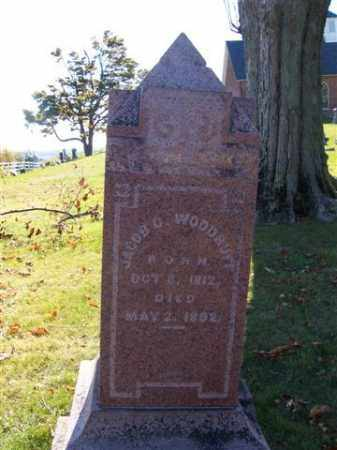 WOODRUFF, JACOB  G - Champaign County, Ohio | JACOB  G WOODRUFF - Ohio Gravestone Photos