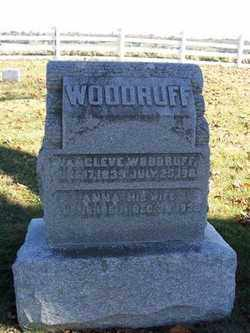 WOODRUFF, ANNA - Champaign County, Ohio | ANNA WOODRUFF - Ohio Gravestone Photos
