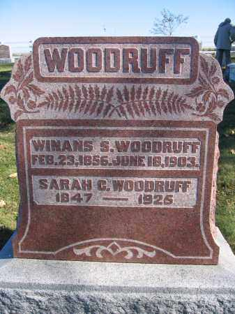 WOODRUFF, WINANS S. - Champaign County, Ohio | WINANS S. WOODRUFF - Ohio Gravestone Photos