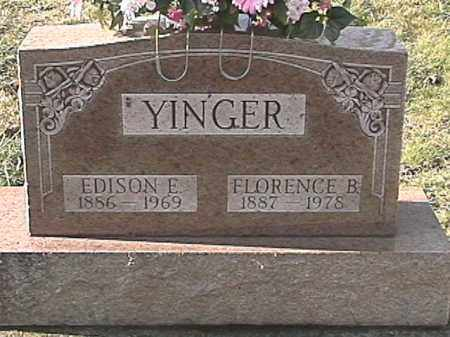 BARGER YINGER, FLORENCE B. - Champaign County, Ohio | FLORENCE B. BARGER YINGER - Ohio Gravestone Photos