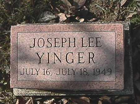 YINGER, JOSEPH LEE - Champaign County, Ohio | JOSEPH LEE YINGER - Ohio Gravestone Photos