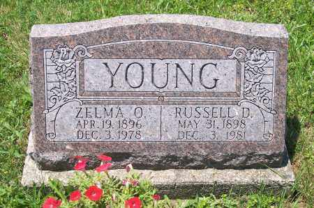 FRANK YOUNG, ZELMA - Champaign County, Ohio | ZELMA FRANK YOUNG - Ohio Gravestone Photos
