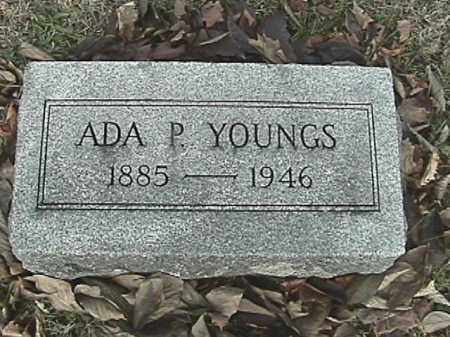 YOUNGS, ADA P. - Champaign County, Ohio | ADA P. YOUNGS - Ohio Gravestone Photos