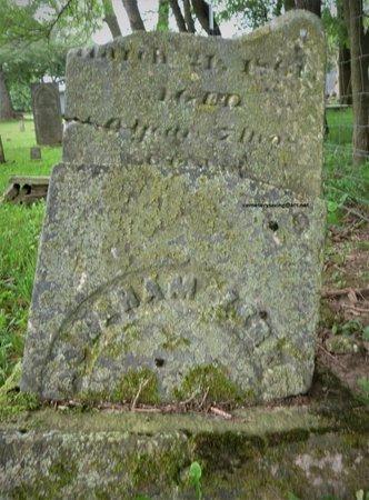 ZERKLE, ABRAHAM - Champaign County, Ohio   ABRAHAM ZERKLE - Ohio Gravestone Photos