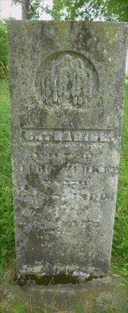 ZERKLE, CATHERINE - Champaign County, Ohio | CATHERINE ZERKLE - Ohio Gravestone Photos