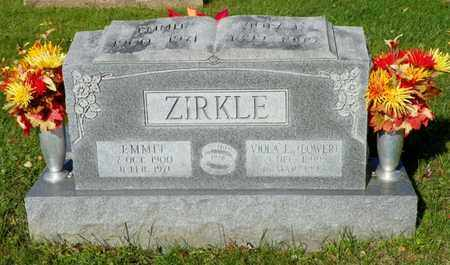LOWER ZIRKLE, VIOLA E. - Champaign County, Ohio | VIOLA E. LOWER ZIRKLE - Ohio Gravestone Photos