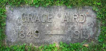 AIRD, GRACE - Clark County, Ohio | GRACE AIRD - Ohio Gravestone Photos