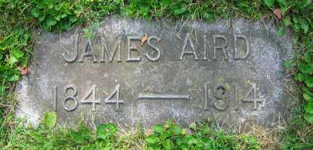 AIRD, JAMES - Clark County, Ohio | JAMES AIRD - Ohio Gravestone Photos