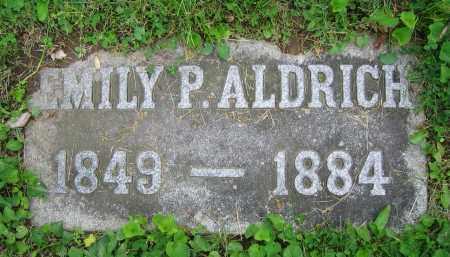 ALDRICH, EMILY P. - Clark County, Ohio | EMILY P. ALDRICH - Ohio Gravestone Photos