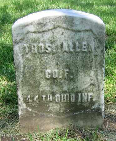ALLEN, THOS. - Clark County, Ohio | THOS. ALLEN - Ohio Gravestone Photos
