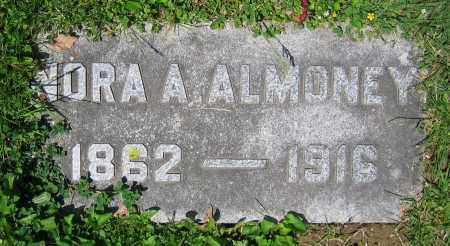 ALMONEY, NORA A. - Clark County, Ohio | NORA A. ALMONEY - Ohio Gravestone Photos