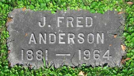 ANDERSON, J. FRED - Clark County, Ohio | J. FRED ANDERSON - Ohio Gravestone Photos