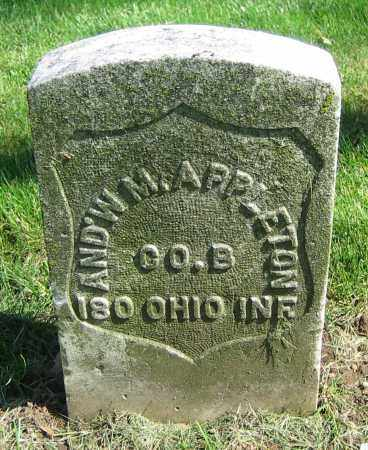 APPLETON, AND'W M. - Clark County, Ohio | AND'W M. APPLETON - Ohio Gravestone Photos