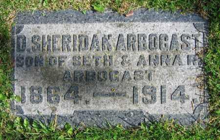 ARBOGAST, D. SHERIDAN - Clark County, Ohio | D. SHERIDAN ARBOGAST - Ohio Gravestone Photos