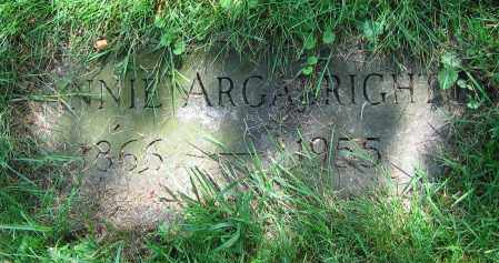 ARGABRIGHT, ANNIE - Clark County, Ohio | ANNIE ARGABRIGHT - Ohio Gravestone Photos