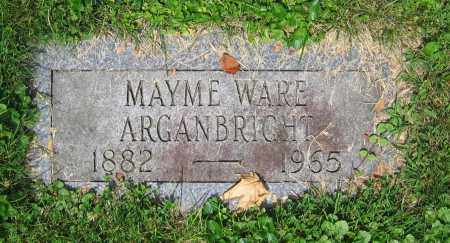 ARGANBRIGHT, MAYME - Clark County, Ohio | MAYME ARGANBRIGHT - Ohio Gravestone Photos