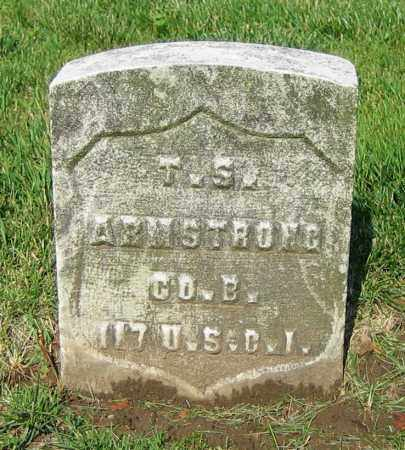 ARMSTRONG, T.S. - Clark County, Ohio | T.S. ARMSTRONG - Ohio Gravestone Photos