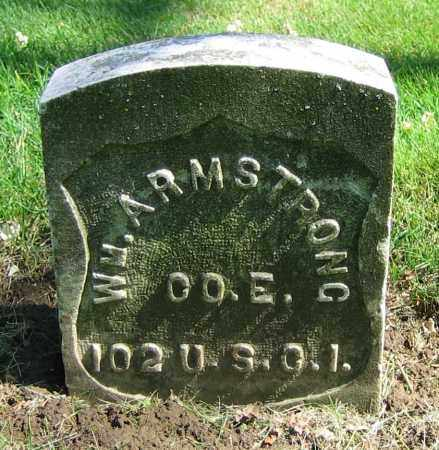 ARMSTRONG, WM. - Clark County, Ohio | WM. ARMSTRONG - Ohio Gravestone Photos