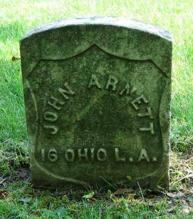 ARNETT, JOHN - Clark County, Ohio | JOHN ARNETT - Ohio Gravestone Photos