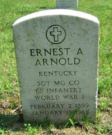ARNOLD, ERNEST A - Clark County, Ohio | ERNEST A ARNOLD - Ohio Gravestone Photos