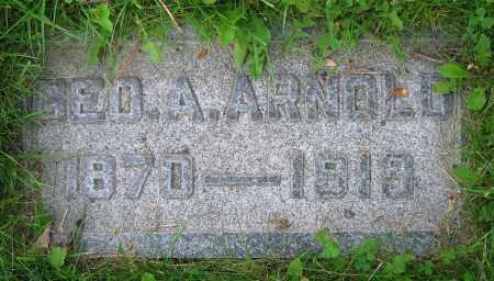 ARNOLD, GEO. A. - Clark County, Ohio | GEO. A. ARNOLD - Ohio Gravestone Photos
