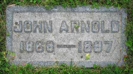 ARNOLD, JOHN - Clark County, Ohio | JOHN ARNOLD - Ohio Gravestone Photos
