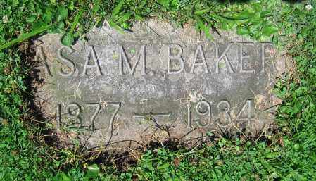 BAKER, ASA M. - Clark County, Ohio | ASA M. BAKER - Ohio Gravestone Photos