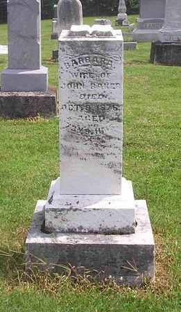 BAKER, BARBARA - Clark County, Ohio | BARBARA BAKER - Ohio Gravestone Photos