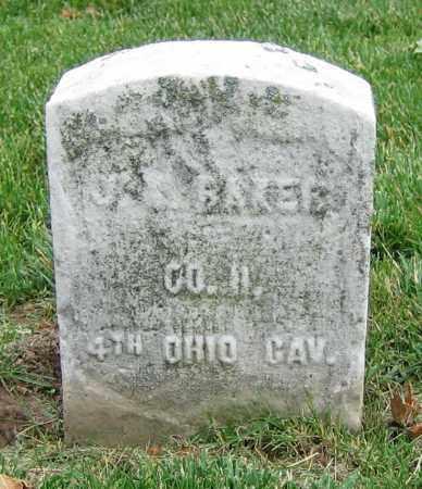 BAKER, J.R. - Clark County, Ohio | J.R. BAKER - Ohio Gravestone Photos