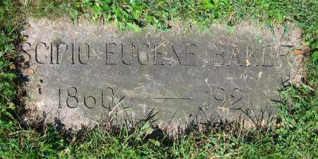 BAKER, SCIPIO EUGENE - Clark County, Ohio | SCIPIO EUGENE BAKER - Ohio Gravestone Photos