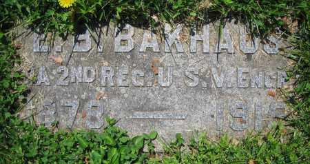 BAKHAUS, E.B. - Clark County, Ohio | E.B. BAKHAUS - Ohio Gravestone Photos