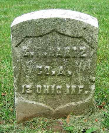 BANTZ, G.F. - Clark County, Ohio | G.F. BANTZ - Ohio Gravestone Photos