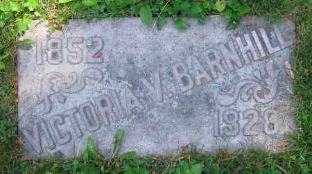 BARNHILL, VICTORIA V. - Clark County, Ohio | VICTORIA V. BARNHILL - Ohio Gravestone Photos