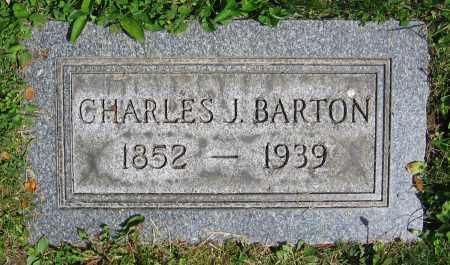 BARTON, CHARLES J. - Clark County, Ohio | CHARLES J. BARTON - Ohio Gravestone Photos