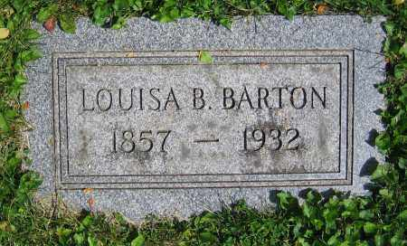 BARTON, LOUISA B. - Clark County, Ohio | LOUISA B. BARTON - Ohio Gravestone Photos